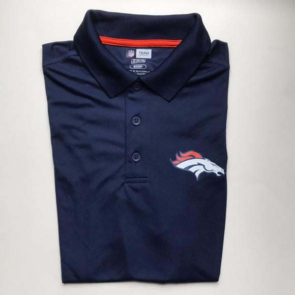 67c39d1f NFL Denver Broncos polo shirt size small NWT NWT